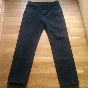 "Men's Black Rustler Straight Leg Jeans 30"" X 30"""